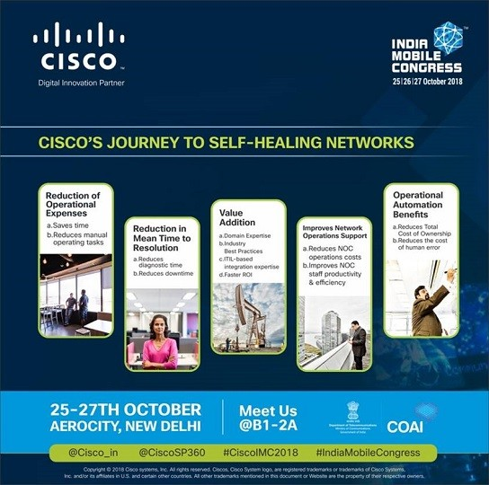 Cisco's Journey to self healing networks